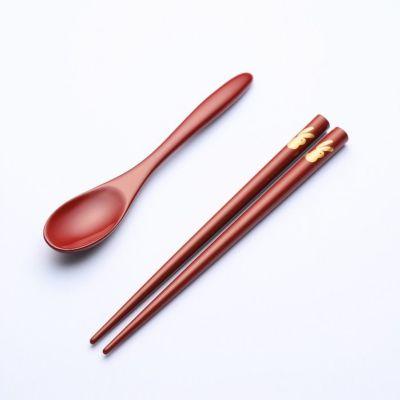 輪島塗 ベビー箸・スプーンセット