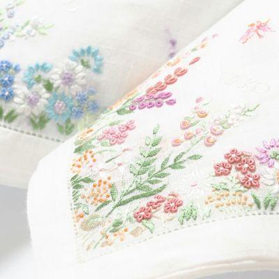 ハンカチーフ〈手刺繍/野の花〉