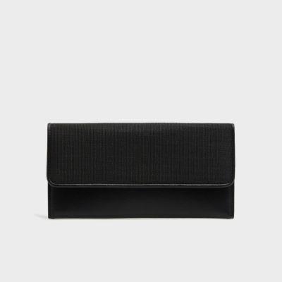 【ブラックフォーマル】 ホースヘア財布