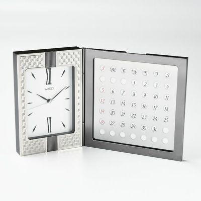 WAKOクロック〈MYS066〉万年カレンダー付き